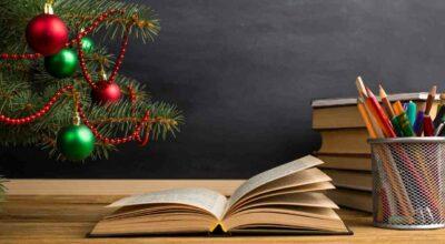 Visita alle scuole per gli auguri di Natale
