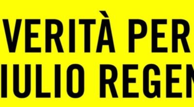 "Campagna di Amnesty International ""VERITÀ PER GIULIO REGENI"""