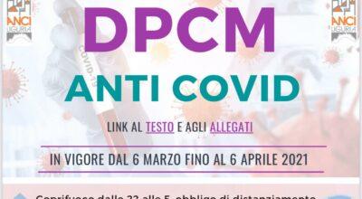 DPCM ANTI COVID MARZO 2021