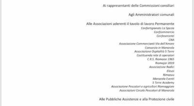 AVVISO ALLA CITTADINANZA – RIUNIONE DEL TAVOLO DI LAVORO PERMANENTE