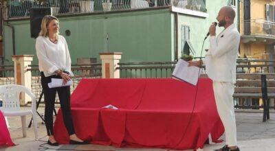 Inaugurazione panchina arcobaleno –  piazza Dario Capellini a Manarola