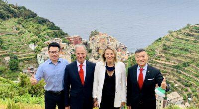 Comunicato stampa Delegazione cinese